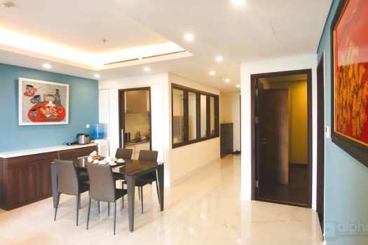 Hanoi Aqua Central 4 bedroom apartment for rent in Yen phu 5