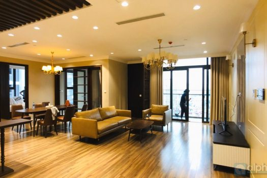Lake view 03 bedroom apartment in Sun Grand City Ha Noi 2