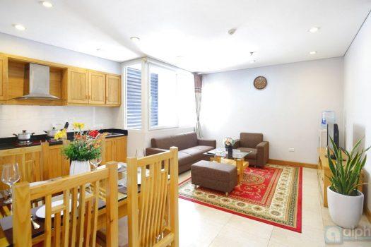 Cho thuê căn hộ 1 phòng ngủ tại Kim Mã, Ba Đình 2