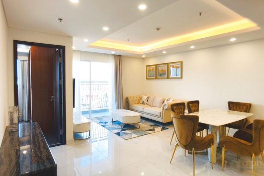 Aqua Central project, high class 3 bedroom apartment for lease 1