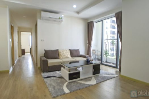 Charming 3 bedroom apartment in Ecolife Tay Ho, A block for lease 4