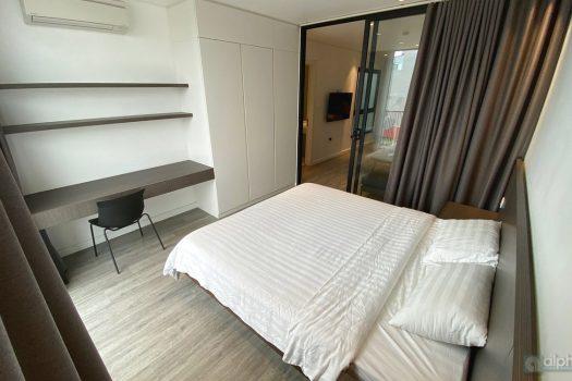 Cho thuê căn hộ hiện đại 1 phòng ngủ tại Lạc Long Quan, đường Trịnh Công Sơn, view thoáng mát 5