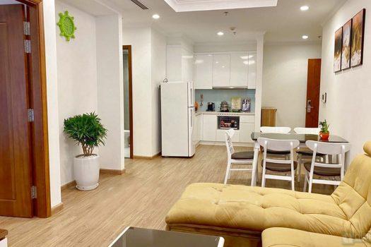 Căn hộ 2 phòng ngủ, đồ nội thất đẹp tại Park 6 - Times city 3
