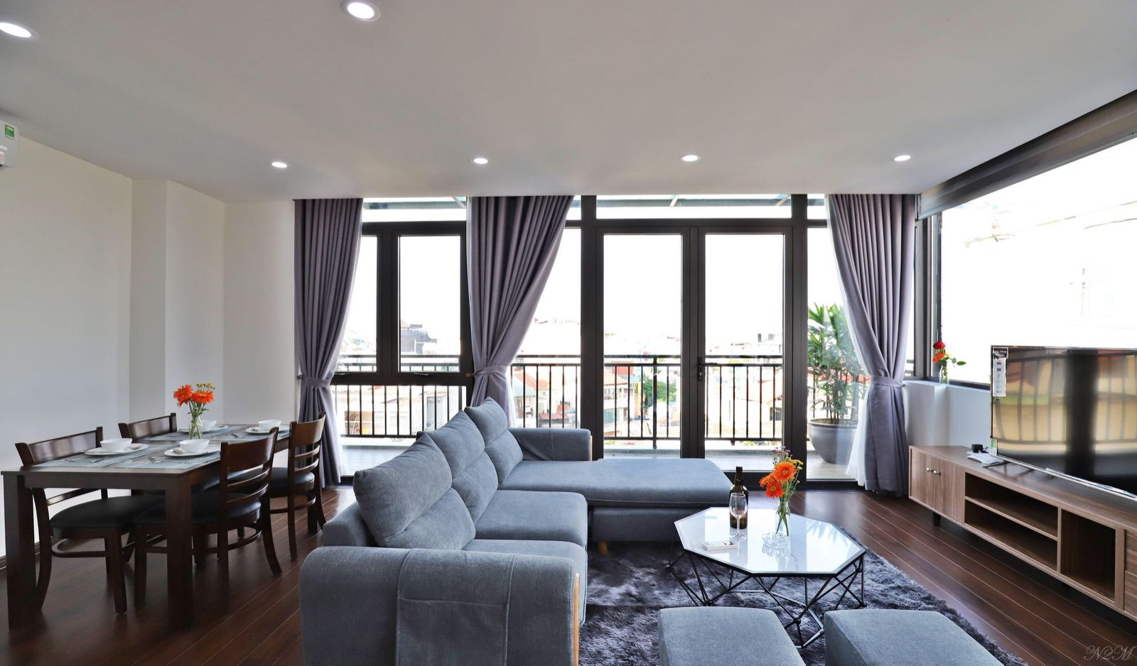 Brand new serviced apartment in Trinh Cong Son – Tay Ho