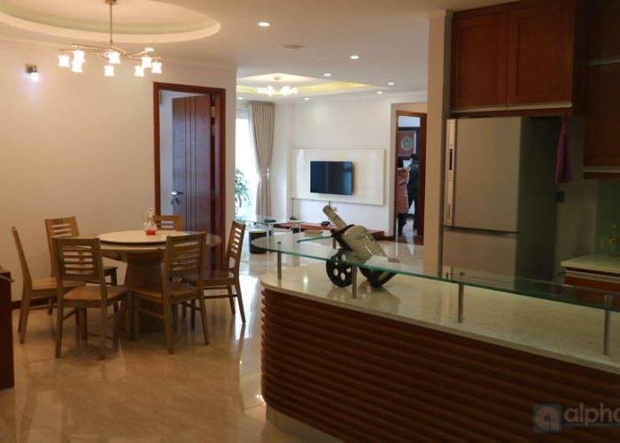 Ciputra Ha Noi – 03bedrooms apartment for rent with 154 sq.m