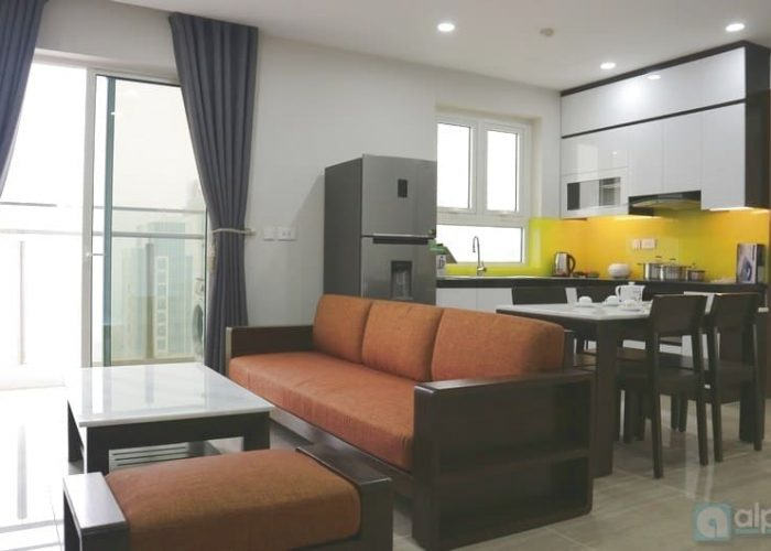 Newly built apartment with 2 bedrooms in Link tower Ciputra.