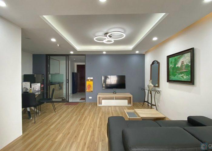 Căn hộ hiện đại và thoáng mát trong tòa nhà D 'Leroi Soleil, nội thất đầy đủ.