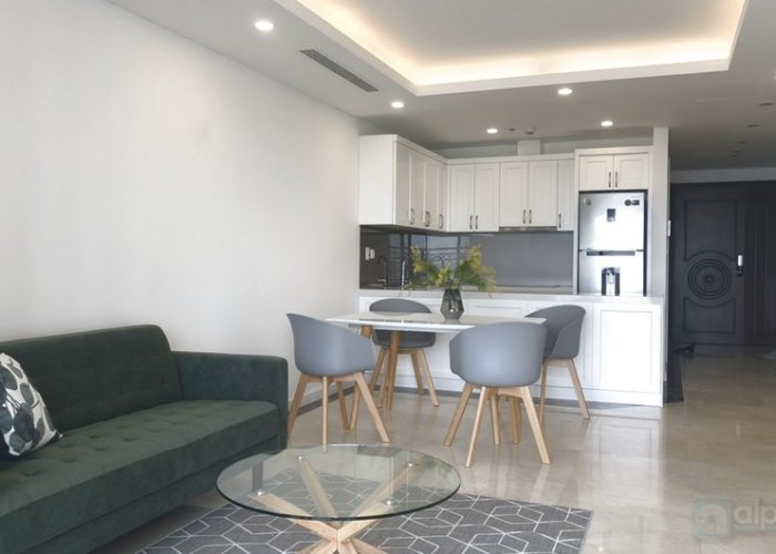 D'Le Roi Soleil 2 bedroom apartment in Xuan Dieu street for rent