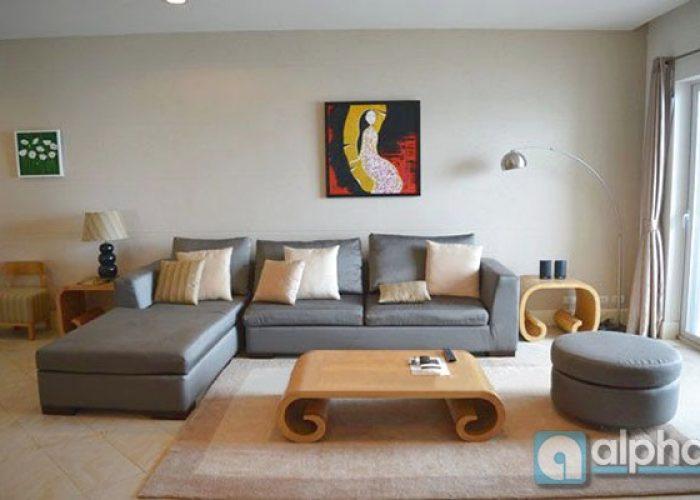 Big size apartment for rent in Golden westlake, Hanoi, Lake view & luxury furniture
