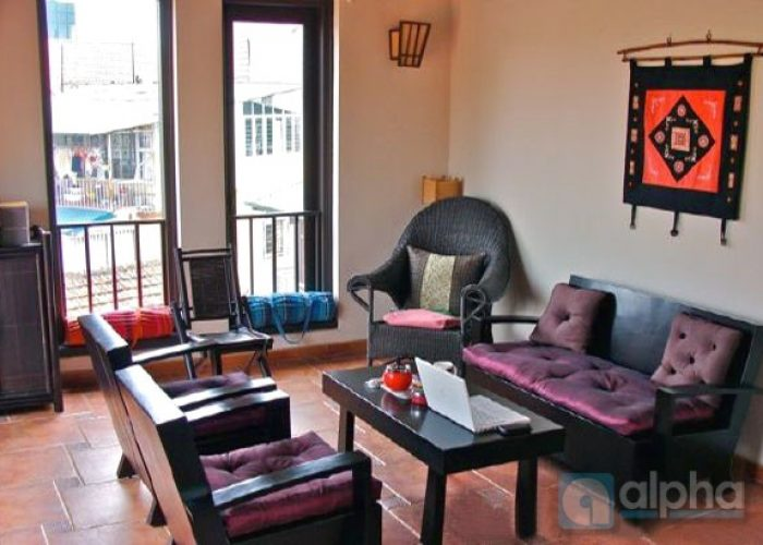 4 bedrooms house for rent in Tran Hung Dao street, Hoan Kiem area