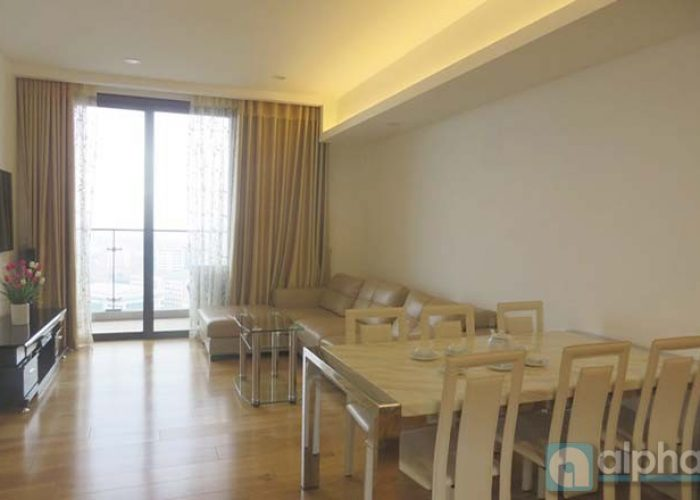Modern apartment with 02 bedrooms for rent in Indochina Plaza, Ha Noi