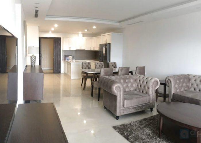 Cho thuê căn hộ 3 phòng ngủ, hoàn toàn mới tại D'le Roi Soleil