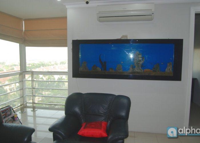 Căn hộ nội thất đẹp cho thuê tại tòa E Ciputra