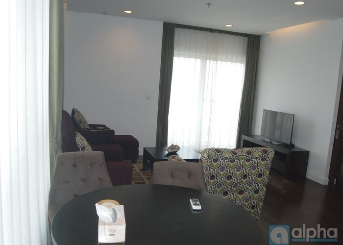 Ha Noi Lancaster apartment for rent, 118 sq.m, 02 bedrooms