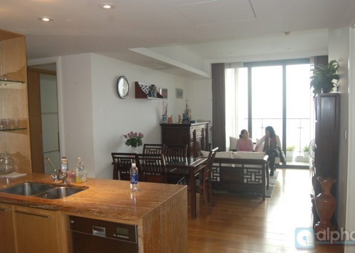 Flat for rent at Indochina Plaza Hanoi (IPH)