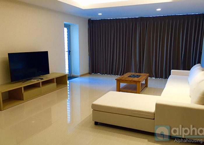 High-end three bedroom apartment for rent in Tu Liem area, Hanoi