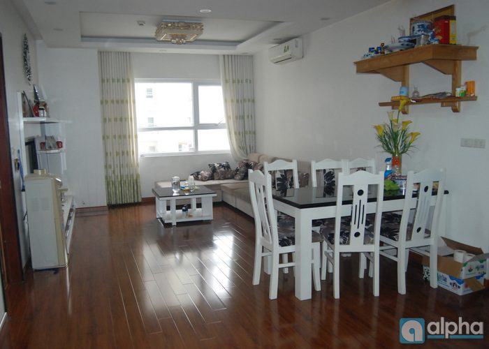 Rental two bedroom apartment in Golden Palace Hanoi