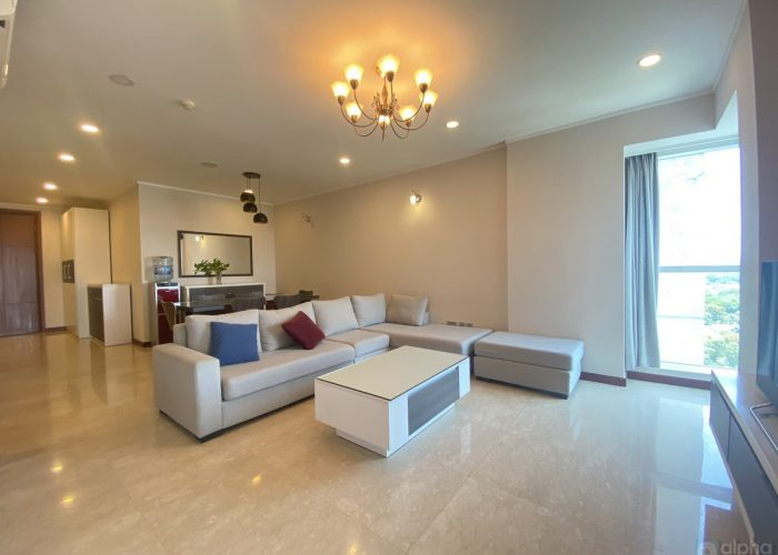 Commodious apartment Ciputra new for rent – 114sqm