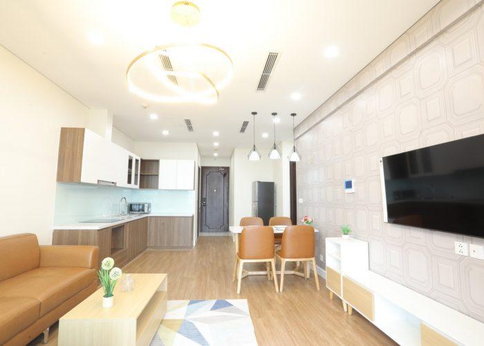 Cho thuê căn hộ 2 phòng ngủ tại D'. El Dorado