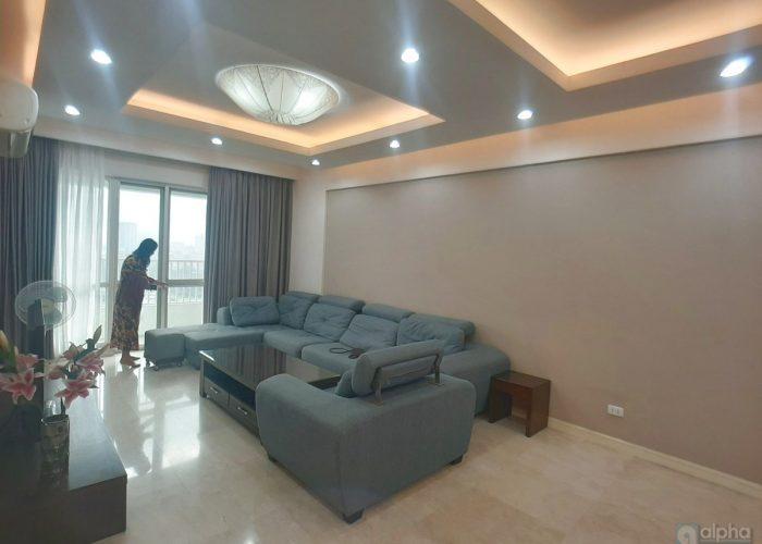 Cho thuê căn hộ 3 phòng ngủ đầy đủ nội thất ở Ciputra