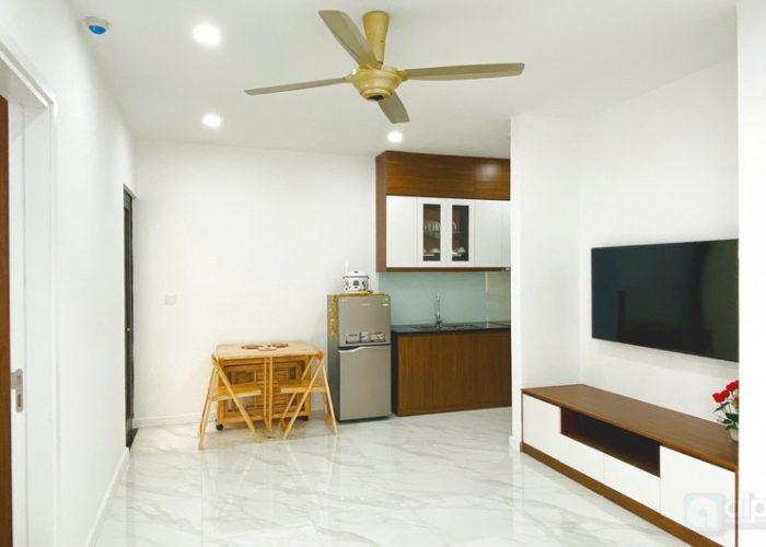 Cho thuê căn hộ 01 phòng ngủ hoàn toàn mới tại tòa nhà D' El Dorado