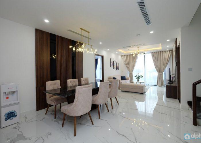 Cho thuê căn hộ Duplex nội thất hiện đại tại SunShine City