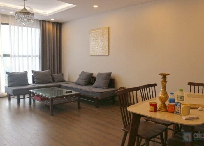 Stunning fully furnished apartment with top quality in FLC Twin Towers for rent