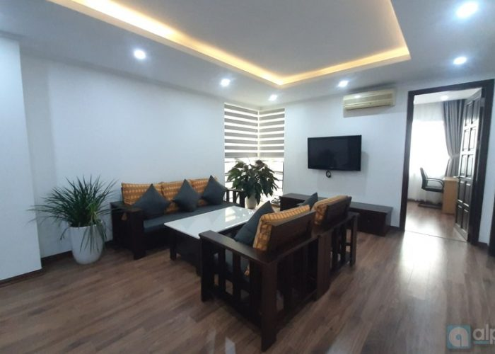 Brand new and good 3 BRs, 123 sq.m Ciputra Apartment to lease