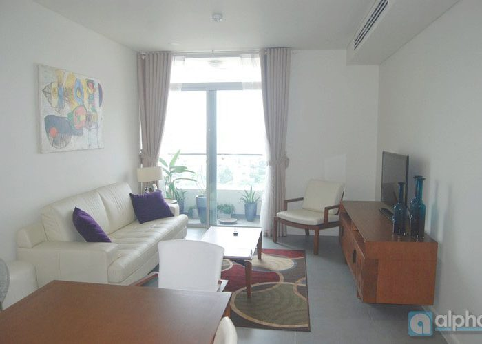 Modern apartment for rent in Watermark Ha Noi