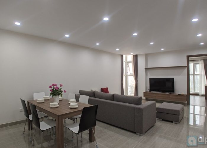 A modern rental apartment in Link 4 Tower Ciputra, Hanoi