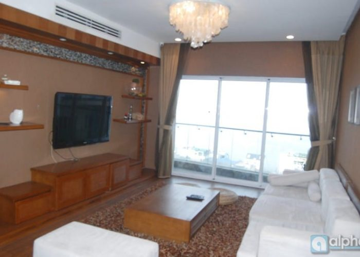 Well equipped apartment in Golden Westlake Hanoi