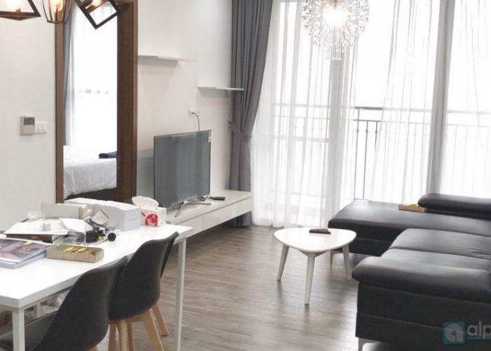 Charming apartment, high floor – nice view – modern furniture.