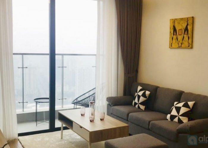 Cho thuê căn hộ 2 phòng ngủ hiện đại tại Vinhomes Metropolis