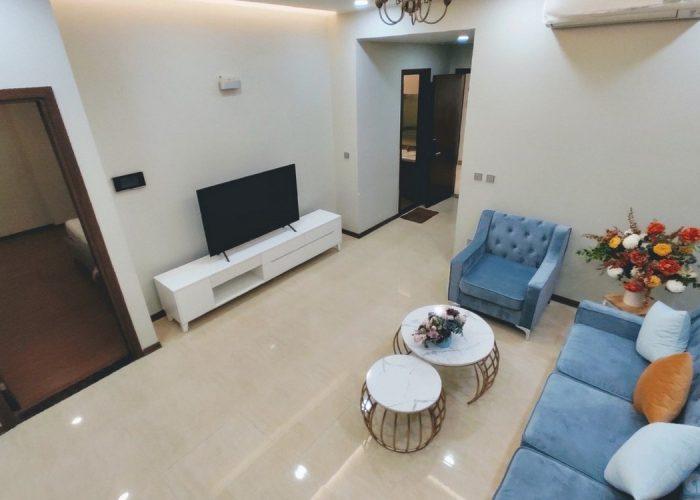 Căn hộ 2 phòng ngủ ở Tràng An, nội thất mới đẹp.