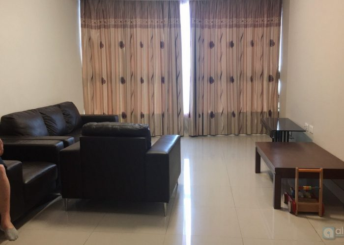 Basic furniture apartment for rent in Keangnam