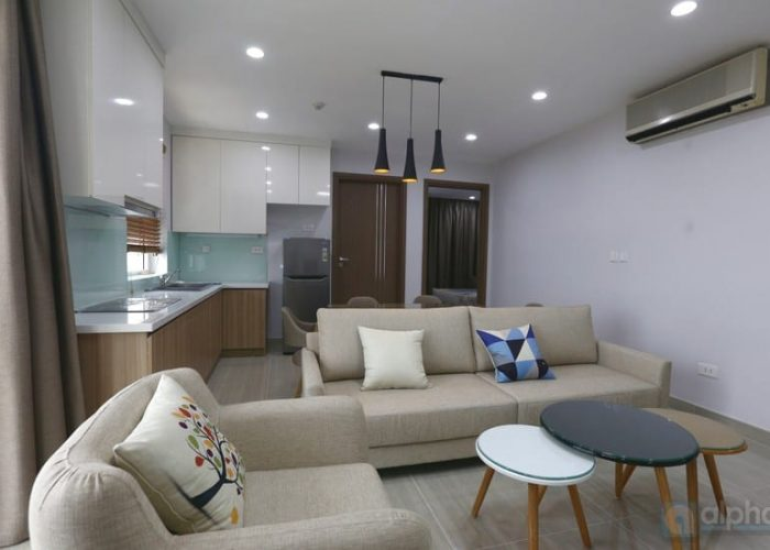 The apartment with natural light in L3 Tower Ciputra ,Hanoi