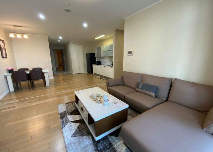 Cho thuê căn hộ 3 phòng ngủ xinh xắn tại Keangnam Tower